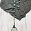 Thumbnail: Amanozite Soldered Pendant with Blue OpL Rosary  Chain