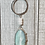 Thumbnail: Arctic terra agate pendant with wire wrapped white jade Amazonite beads