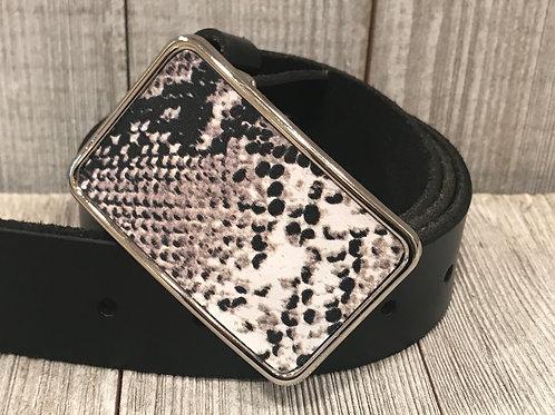 Python Print Leather Belt Buckle