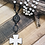 Thumbnail: Magnesite Cross with Brass connector and Magnesite Rosary Chain