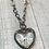 Thumbnail: Soldered Crystal Heart Short Necklace