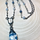 Thumbnail: K2 Granite Necklace is Mixed w/ Blue kyanite and Pryrite Chain