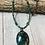 Thumbnail: Malachite and Pyrite Pendant Necklace