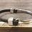Thumbnail: Bar Hook Leather Bracelet