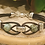Thumbnail: Silver Link Bracelet with Leather