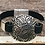 Thumbnail: Silver Paisley and Leather Bracelet