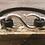 Thumbnail: Silver S-Hook leather bracelet