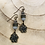 Thumbnail: Brass Flower Earrings