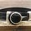 Thumbnail: Black Onyx Button Leather Bracelet