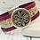 Thumbnail: Magenta Leather and Flecked Portuguese Cork Bracelet
