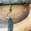 Thumbnail: Matte gold ring with pave bead and matte chain tassel