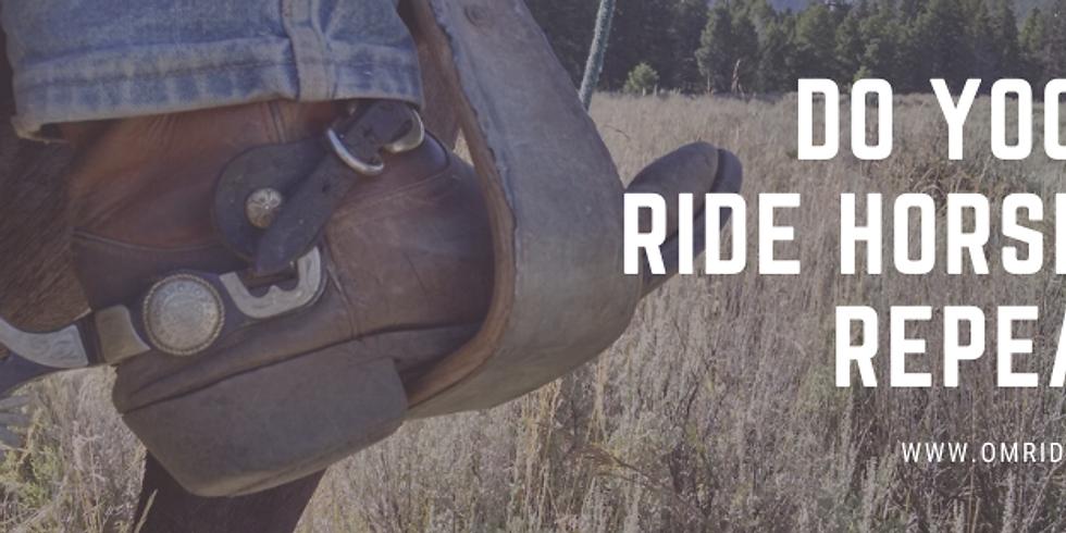 Lisa Bauman OM Riding Workshop Series 1