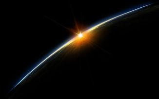 space-sunset-over-earth-desktop-wallpape