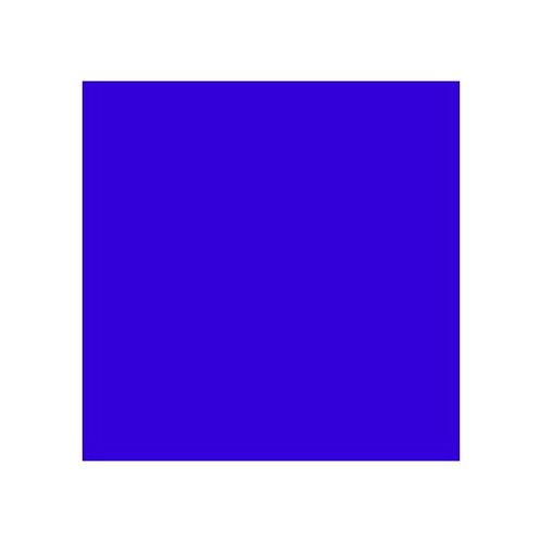 ROSCO 119 DARK BLUE E-COLOUR FILTER