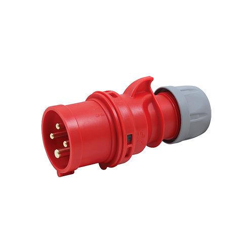 16A 415V 3P+E Plug
