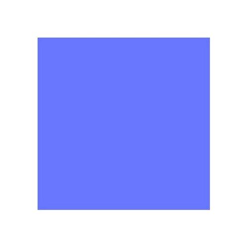 ROSCO 500 DOUBLE NEW COLOUR BLUE E-COLOUR FILTER