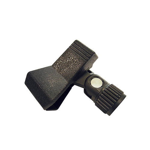 "MC1 Microphone holder, clamp, black, 5/8"" thread"