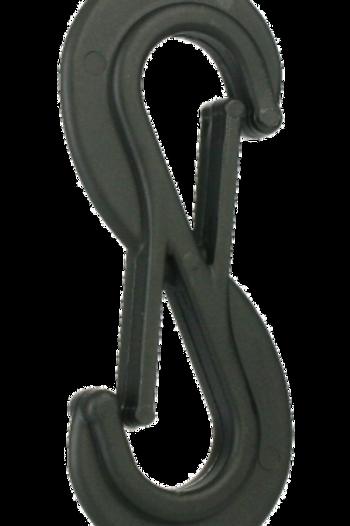 Doughty Six Track Nylon Twin Hook T63796