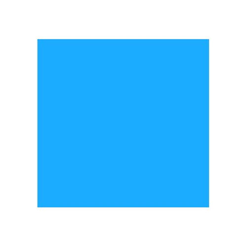 ROSCO 165 DAYLIGHT BLUE E-COLOUR FILTER