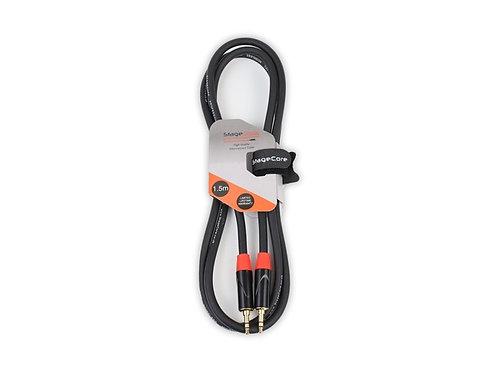 iCORE 140 3.5mm Stereo Mini Jack Plug - 3.5mm Stereo Mini Jack Plug
