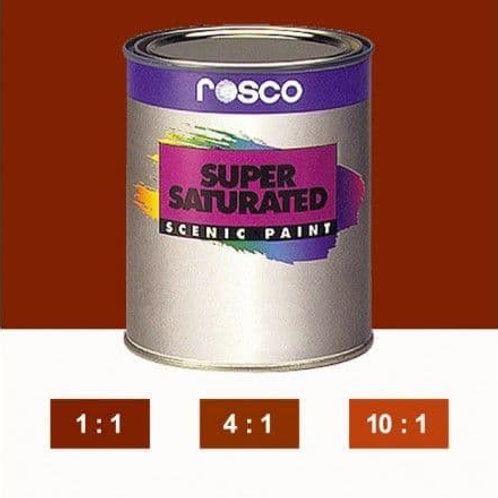 ROSCO SUPERSAT PAINT - BURNT SIENNA