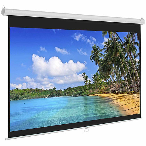 ELECTRIC FRONT PROJECTION SCREEN