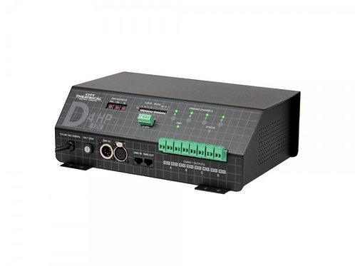 QolorFLEX 4x6A Dimmer 24v Terminal Block DMX512 / 0-10VDC