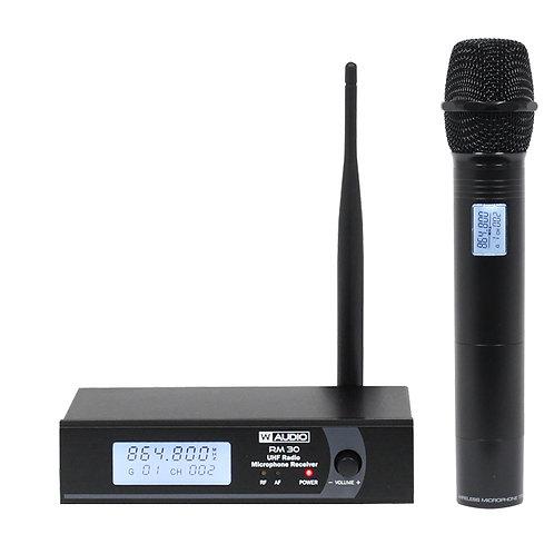 RM 30 UHF Handheld Radio Microphone System (864.8Mhz)