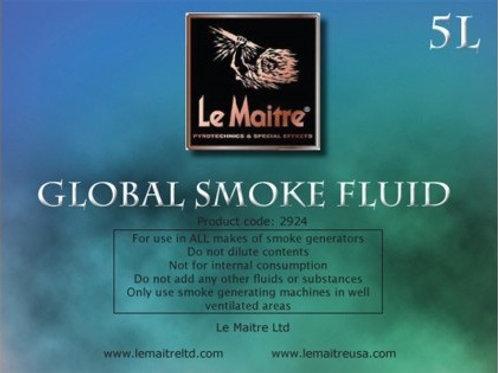 Global smoke fluid 4 x 5L