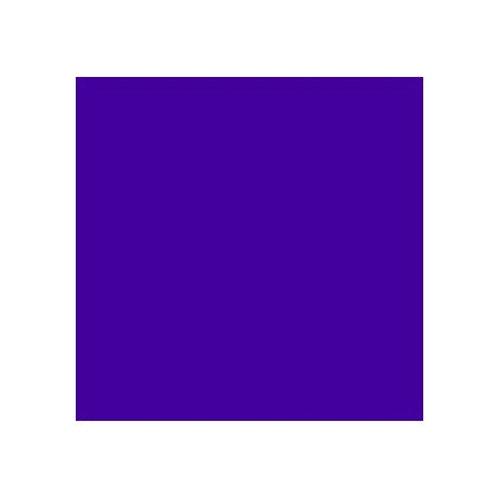 ROSCO 198 PALACE BLUE E-COLOUR FILTER