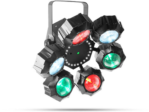 CHAUVET Beamer 6FX RGBW Beam/Strobe/Red Green Laser Effect