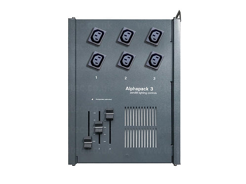 Alphapack 3 Dimmer With 6x6Amp IEC Female (CEE22) Outlet
