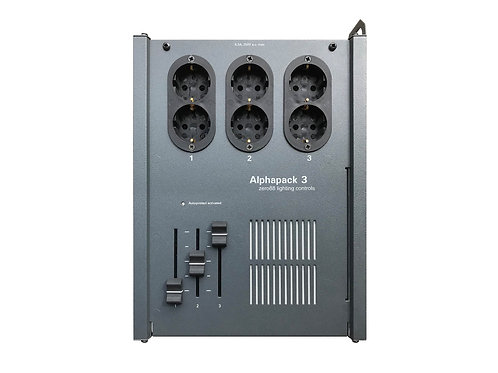 Alphapack 3 Dimmer With 6x16Amp Schuko Socket Outlet