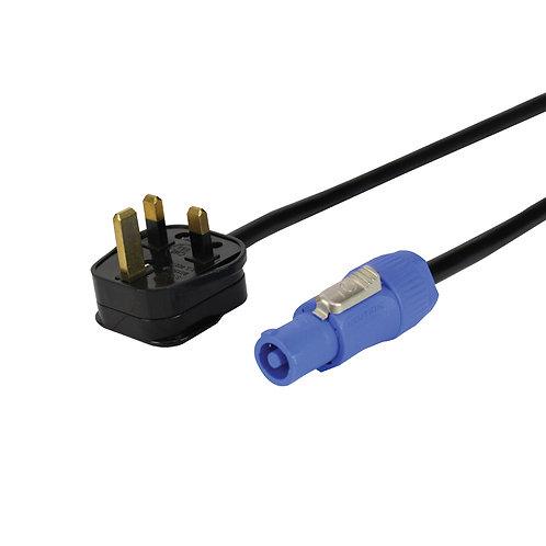 3m 13A – Neutrik PowerCON Cable – 1.5mm 3183Y PVC