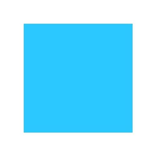 ROSCO 724 OCEAN BLUE E-COLOUR FILTER