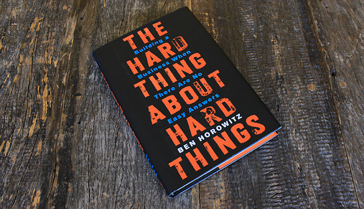 Book review - The Hard Thing About Hard Things by Ben Horowitz