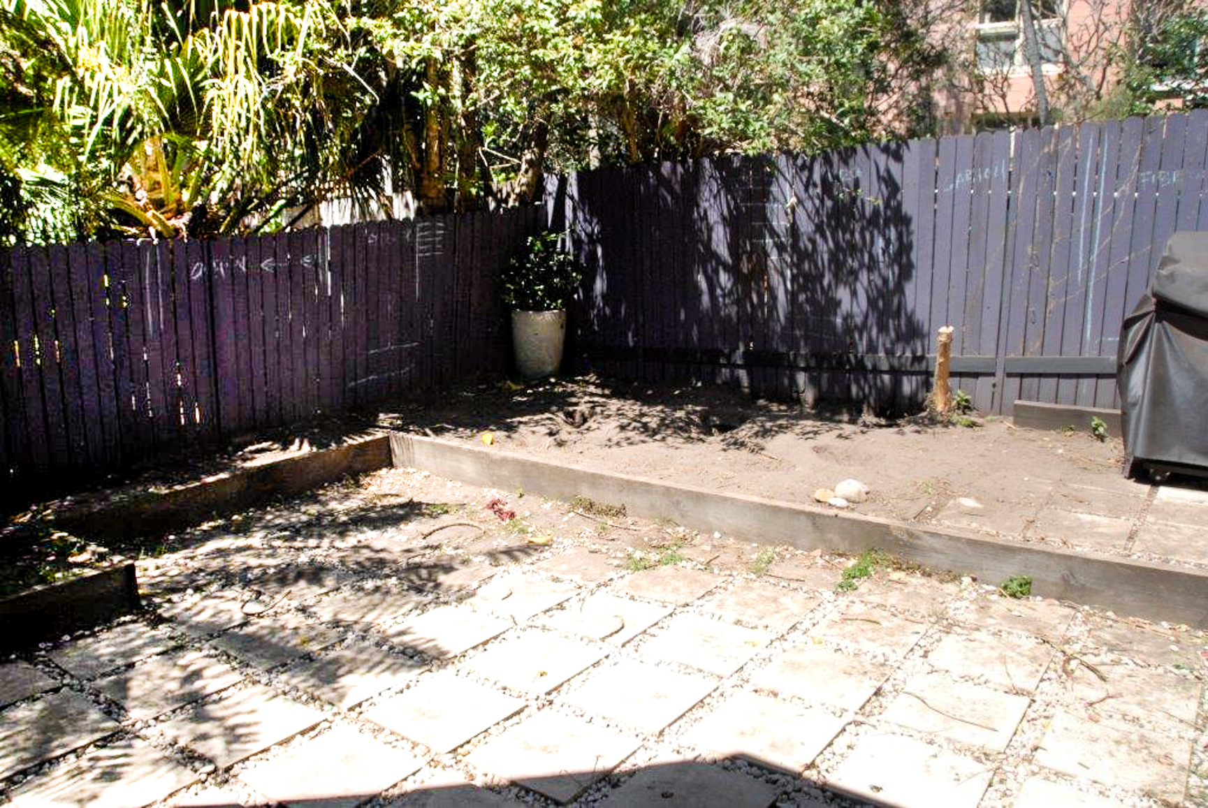 Bondi Courtyard - BEFORE