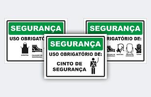 Sinalização segurança, placa, segurança
