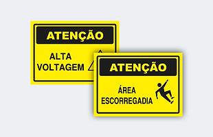 Atenção, placa de atenção, sinalização de atenção