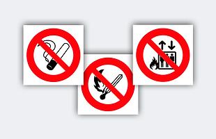 Sinalização de proibição, proibido, placa, sinalização
