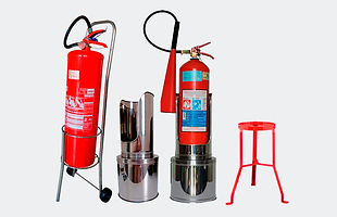 Suporte tripé, suporte de solo paa extintor, capa para extintor, tag pra extintor, carrinho para extintor