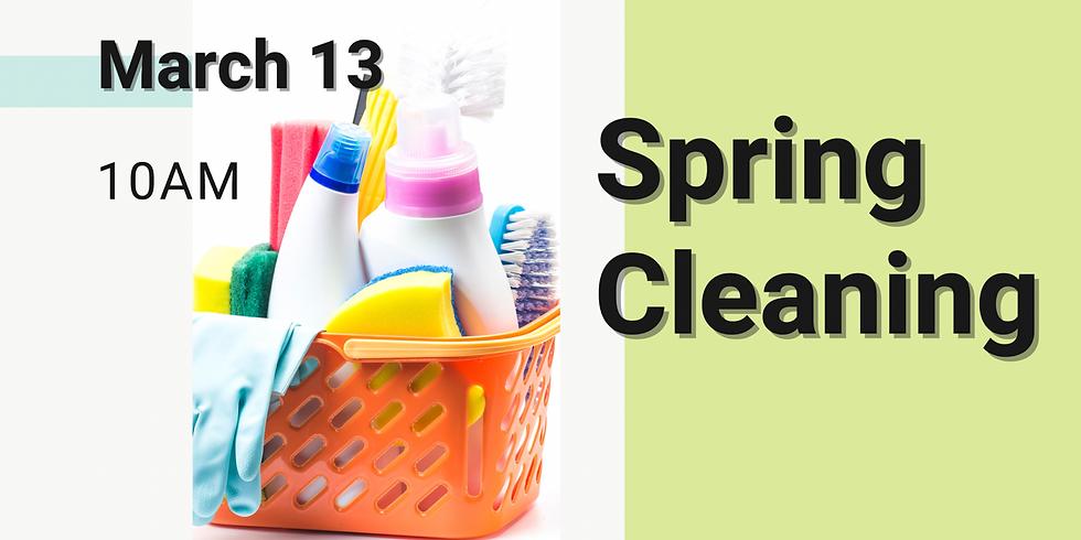 Church Spring Clean