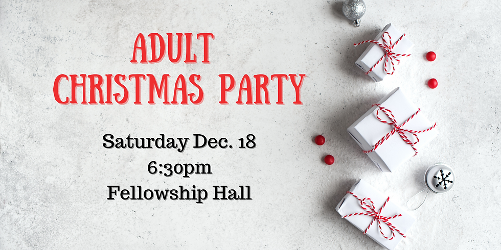 Adult Christmas Party