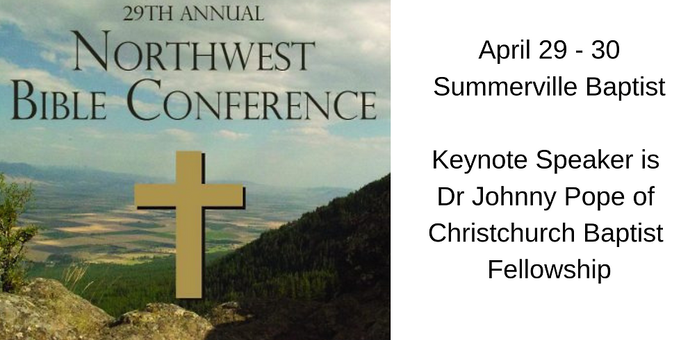 29th Annual NW Bible Conference