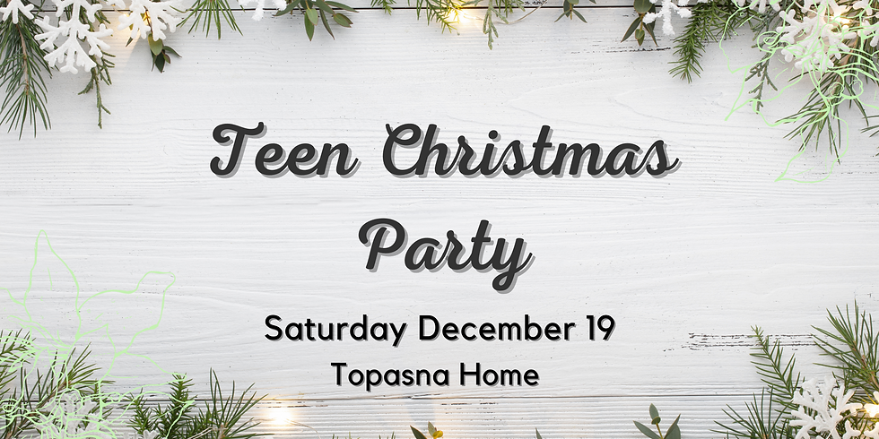 Teen Christmas Party