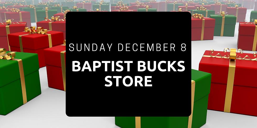 Baptist Bucks Store