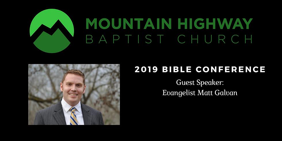 MHBC Bible Conference