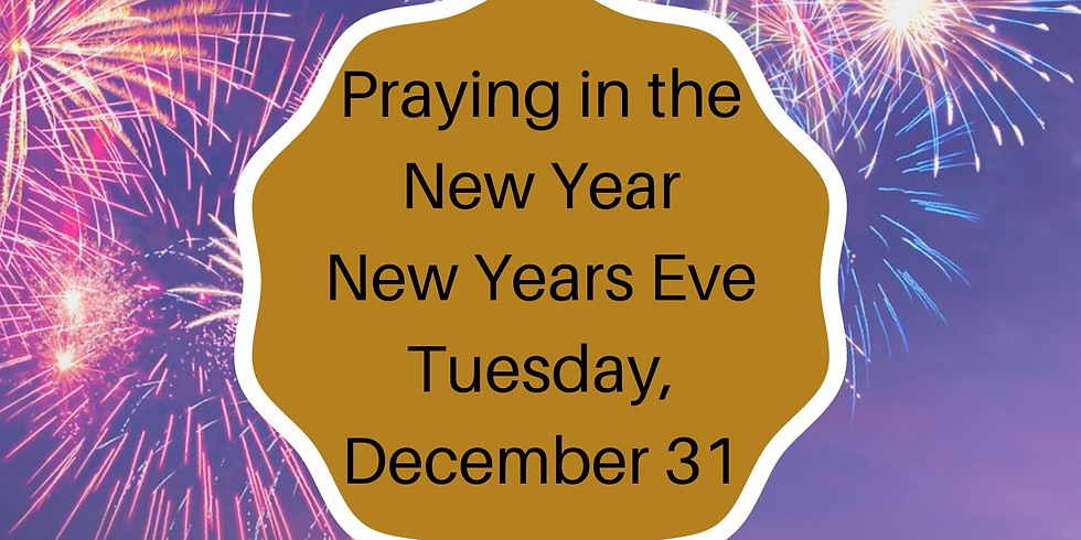 Praying in the New Year