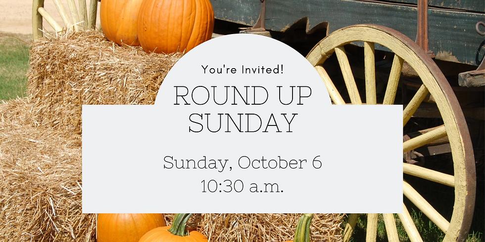 Round Up Sunday