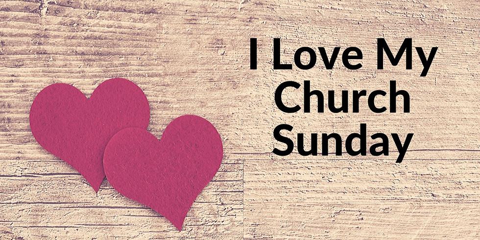 I love my Church Sunday